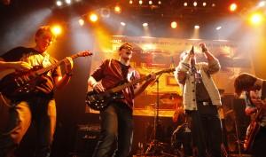 Rock in der Region: Die Gewinnerband 2012 bei ihrem Auftritt beim Finale 2012