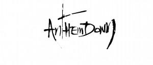 Anthemdown Schriftzug