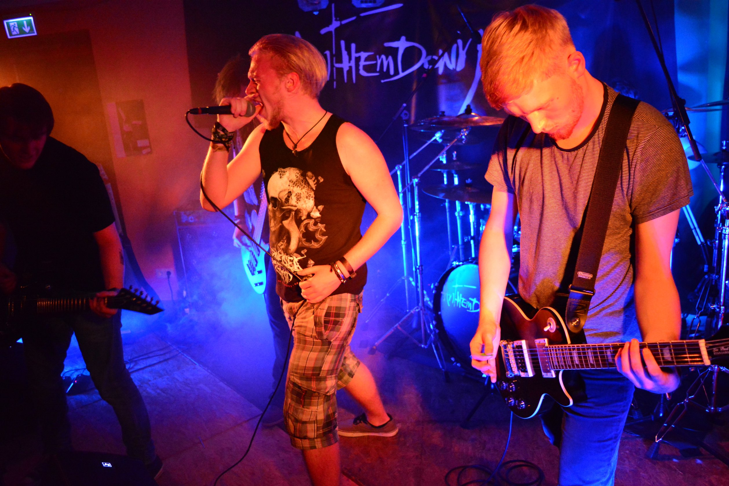 Anthemdown Rock in der Region 2015