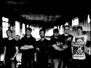 Pressefoto der Metalcore Band Falling Bricks Rock in der Region 2016 Bad Essen