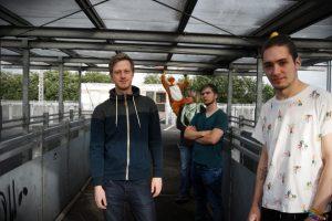 Pressefoto der Indie-Band Reineke Fuchs Rock in der Region 2016 Osnabrück