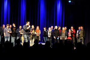 Die Jury beim Rock in der Region-Finale 2016 in Osnabrück