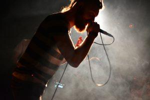 Die Metalcore-Band Chiffre live bei Rock in der Region 2017 im Westwerk Osnabrück