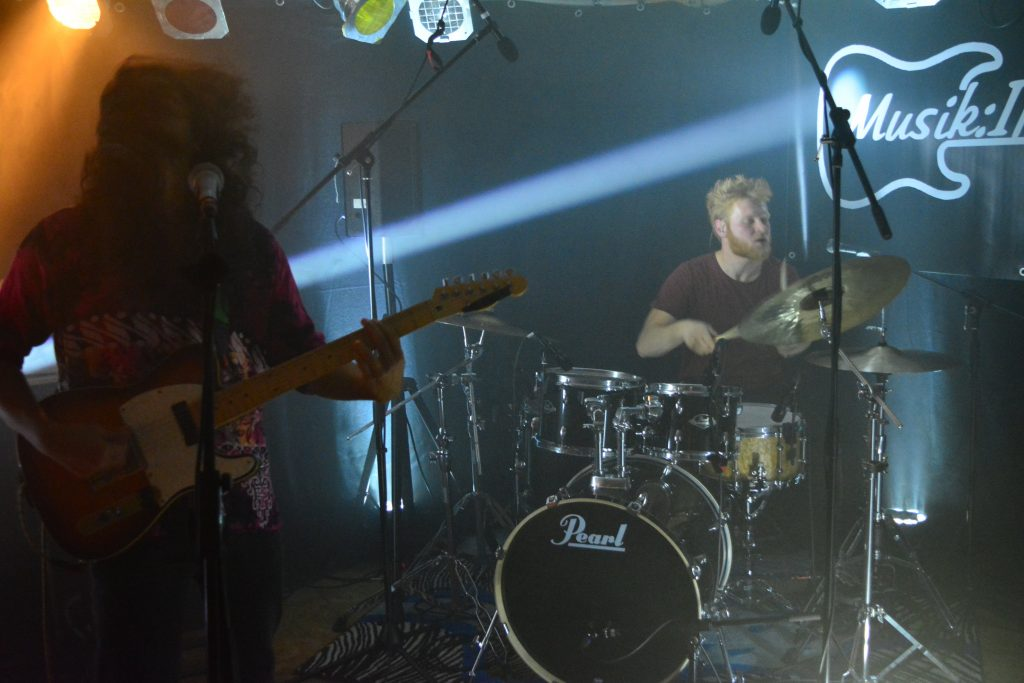Die Post Metal Band From Willows live beim Rock in der Region Vorentscheid 2017 in Bad Essen
