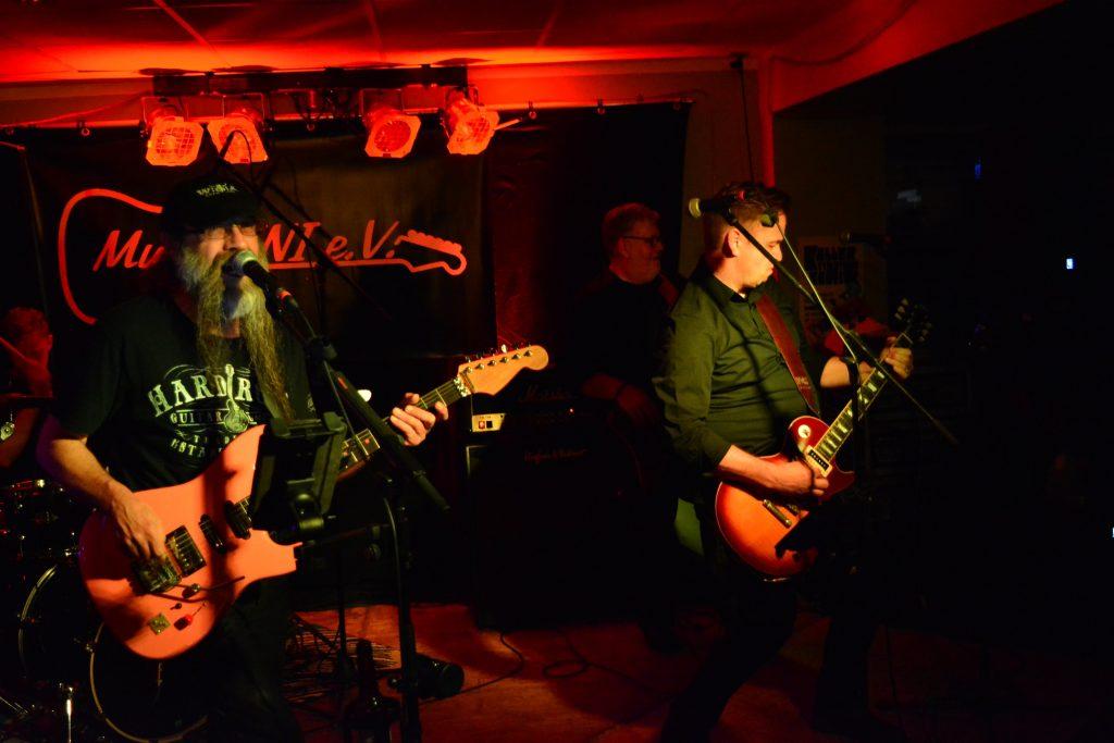 Die Rockband Ivory live beim Rock in der Region Vorentscheid 2017 in Bad Essen