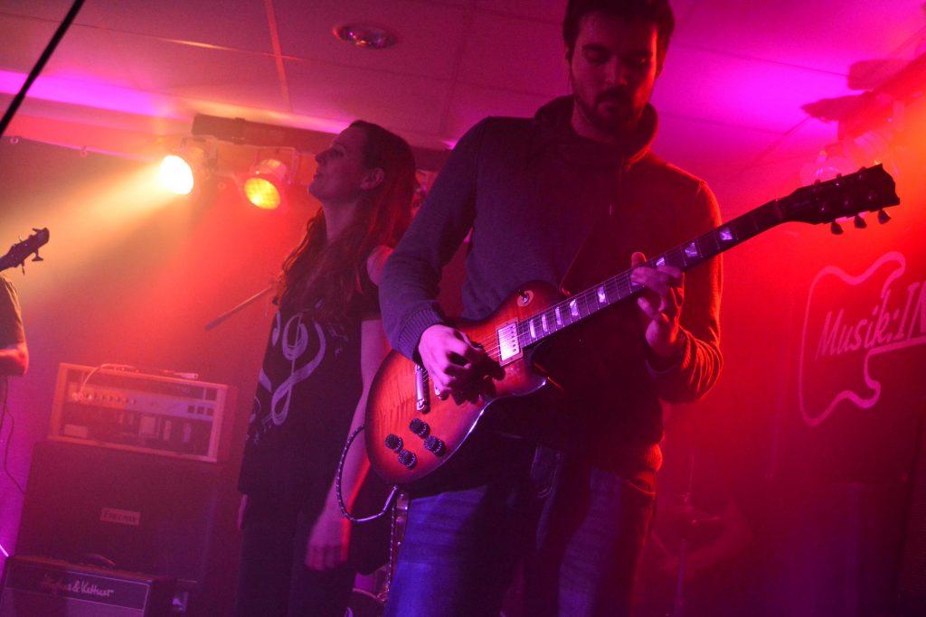 Die Rockband On Probation live beim Rock in der Region Vorentscheid 2017 in Bad Essen