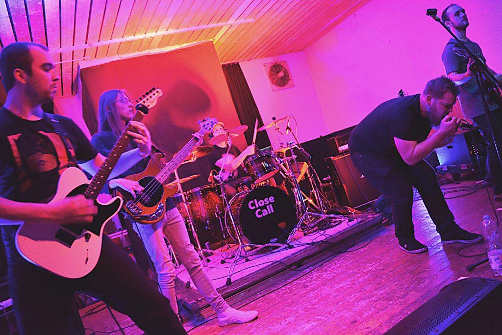 Die Metal-Band Close to Realitylive beim Rock in der Region Vorentscheid 2017 in Georgsmarienhütte
