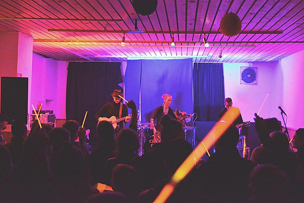 Die Alternative Metal Band Close Call live beim Rock in der Region Vorentscheid 2017 in Georgsmarienhütte