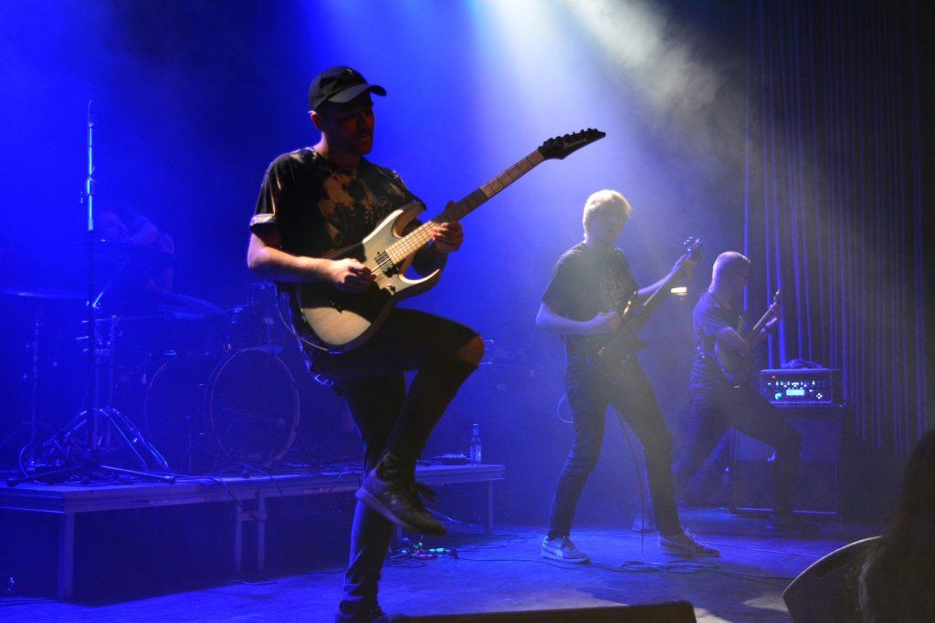Die Metalcore-Band Chiffre live beim Rock in der Region-Finale 2017 im Haus der Jugend Osnabrück