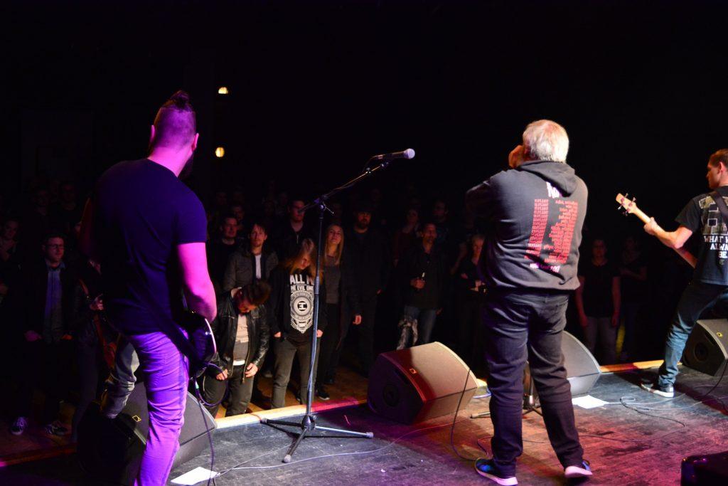 Die Alternative Metal-Band Close Call live beim Rock in der Region-Finale 2017 im Haus der Jugend Osnabrück