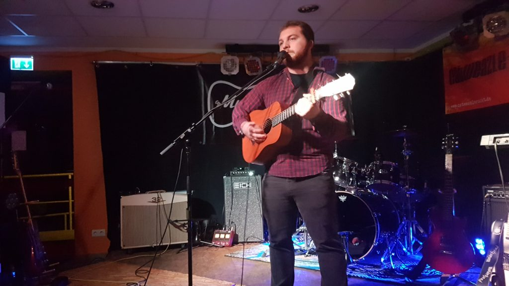 Leif Lauxterman, Singer Songwriter, Acoustic, Romantik, Rock in der Region, lokaler Contest