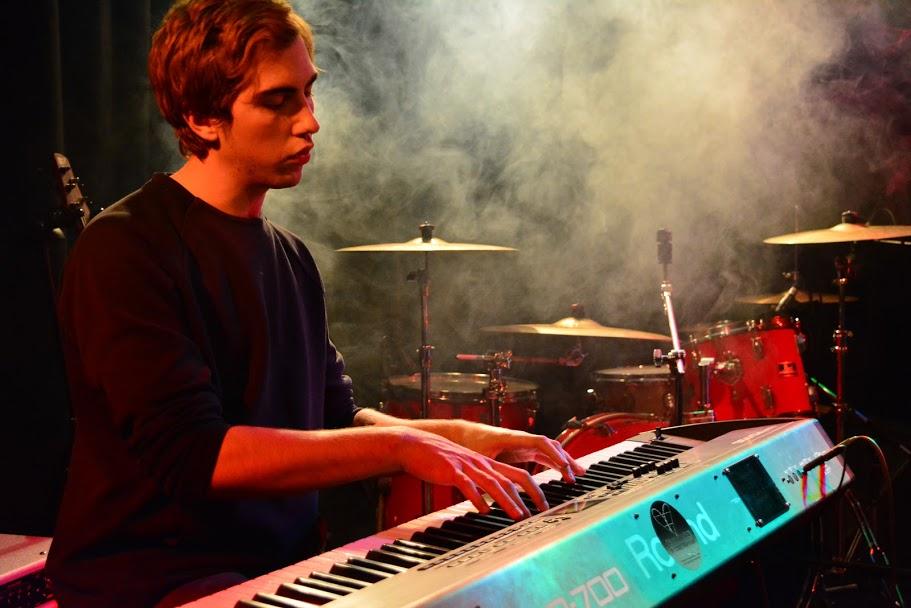 The Current State of Claustrophobia, Keyboard, Westwerk, Rock in der Region 2018, live, ist das Kunst