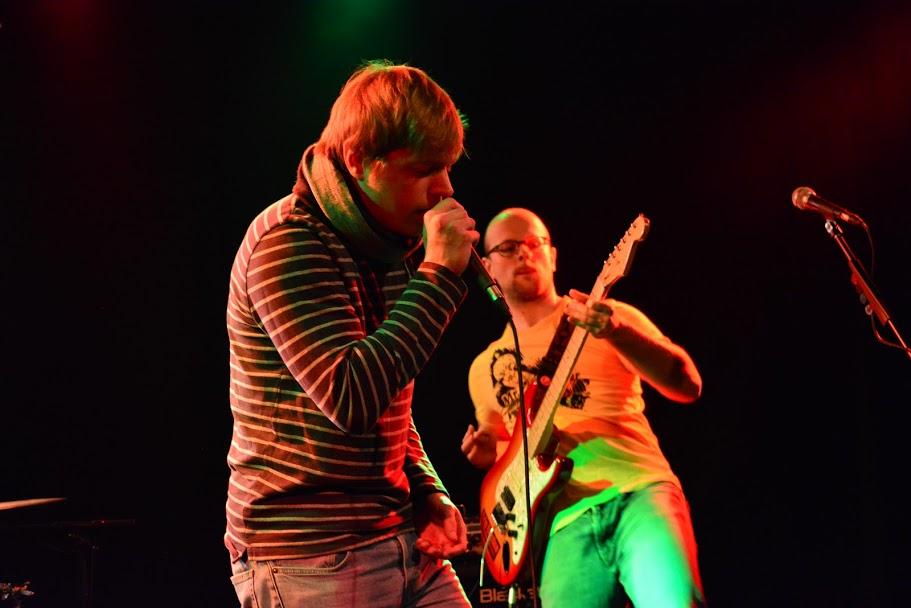 Crip Election, Rock in der Region 2018, Westwerk, Osnabrück, live, Hardrock, Gitarrist, coole Pose, Classic Rock, Band