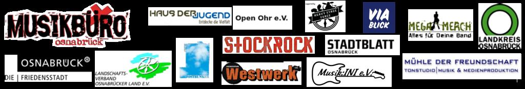 Partner und Förderer von Rock in der Region 2018