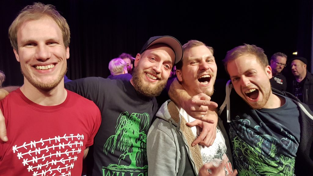 Called to mind Gewinnerband von Rock in der Region im Finale am 07.12.2018