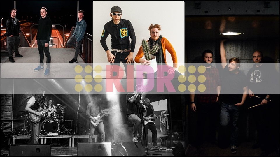 RIDR Rock in der Region 2019 Bands Bramsche Alte Webschule